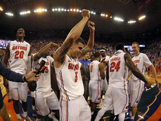 2014 Florida Gators Basketball team.