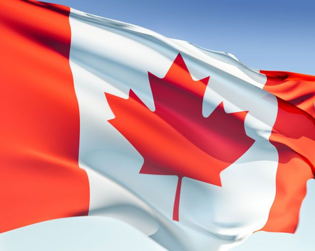 Thumbs Up: Happy 50th birthday, national flag of Canada!