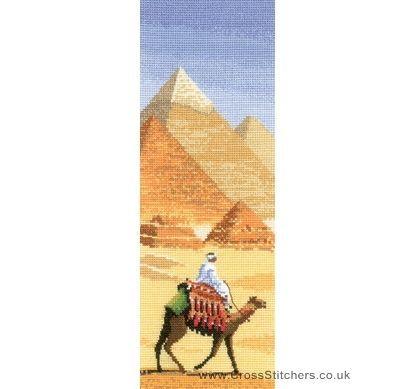 The Pyramids - John Clayton Internationals Cross Stitch Kit from Heritage Crafts