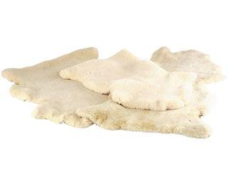 Naturfell Pflanzengerbung von Kaiser Naturfellprodukte, Gr.2, ca. 80-90 cm - Echtes Lammfell, natürlich gegerbt