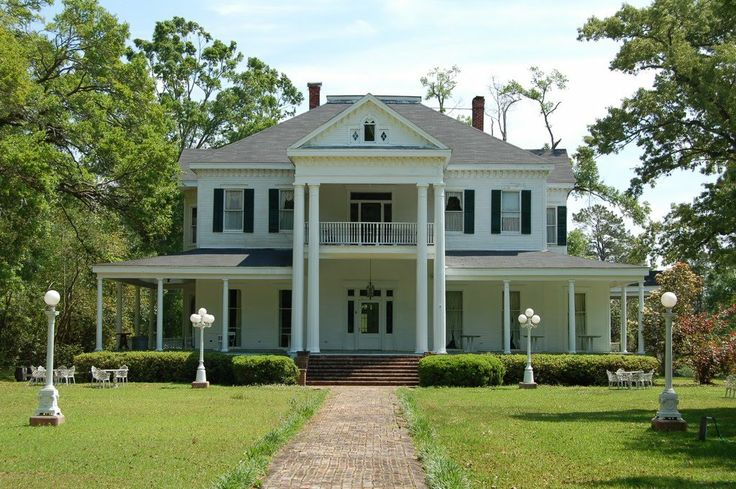 BLYTHEWOOD PLANTATION Amite, Louisiana, Tangipahoa Parish- 1885 built by Daniel Hardy Sanders. The original having burned before the Civil War .