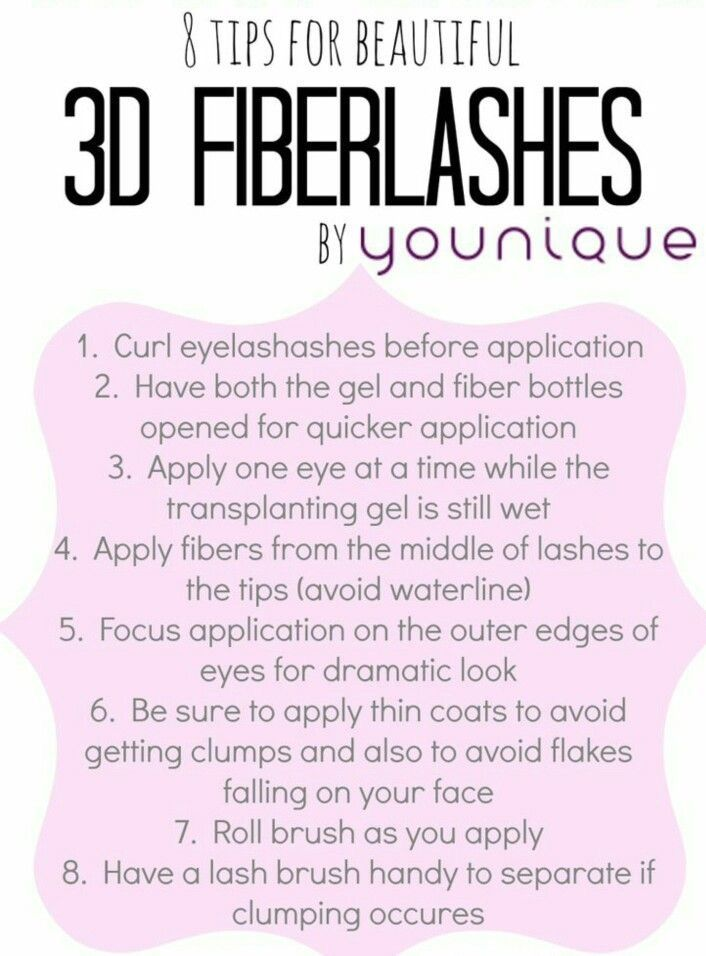 3D Fiber Lash Mascara Tips To Plus to Apply the Gel Fibers so you can achieve the perfect lashes! I have several different tips on this board for you to try out & see which one works best for you! #ClickImageToShop #Questions #EmailMe sarahandbrianyounique@gmail.com