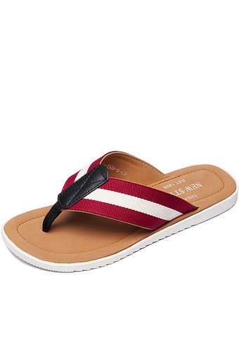 TXNS0008-A Flip-Flops Men Casual Fashion Korean Flip-Flops Slipper (Red) | ราคา: ฿838.00 | Brand: Unbranded/Generic | See info: http://www.topsellershoes.com/product/20738/txns0008-a-flip-flops-men-casual-fashion-korean-flip-flops-slipper-red