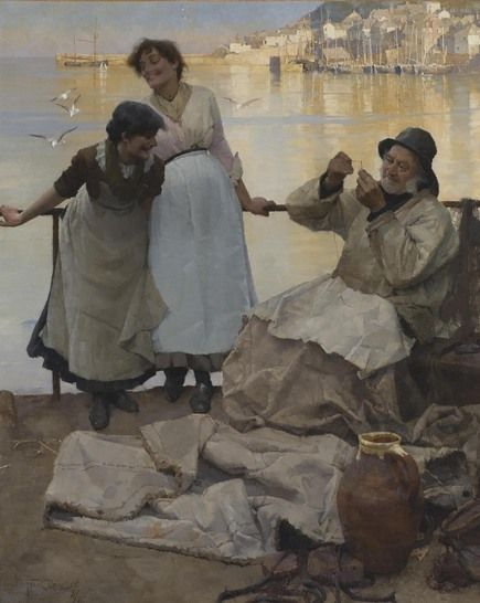 Frank Bramley - Artists - Penlee House Gallery and Museum Penzance Cornwall UK