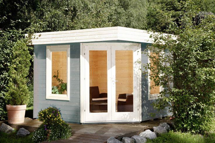 16 best karibu images on pinterest small homes garden tool storage and little houses. Black Bedroom Furniture Sets. Home Design Ideas
