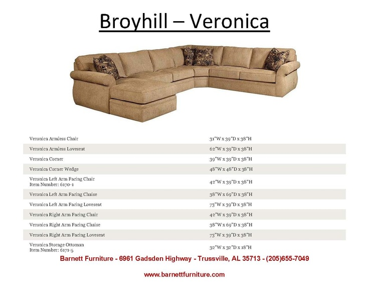 Broyhill Veronica Sectional You Choose the Fabric - You Choose the Pieces you need for your  sc 1 st  Pinterest : broyhill sectional veronica - Sectionals, Sofas & Couches