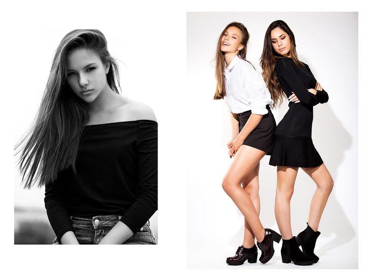 ►• GET THE LOOK ►• BLACK&WHITE ►• • Vestido básico negro con botines en color negro o shorts negro con camisa blanco y botines cordoneras negros  • Ver más en ► http://goo.gl/Tbns7n