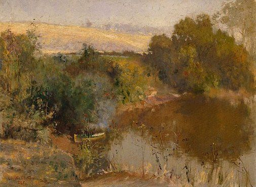 An image of The Yarra below Eaglemont by Walter Withers