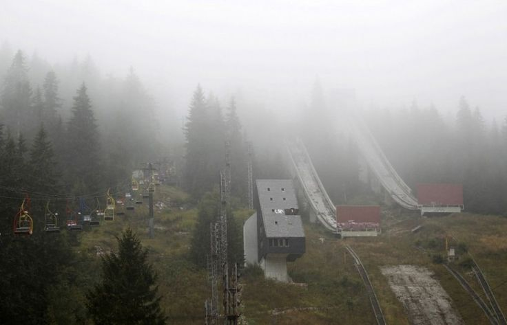 instalaciones abandonadas de las olimpiadas de invierno 1984 sarajevo