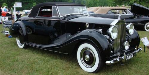 1950 Rolls-Royce Silver Wraith Roadster