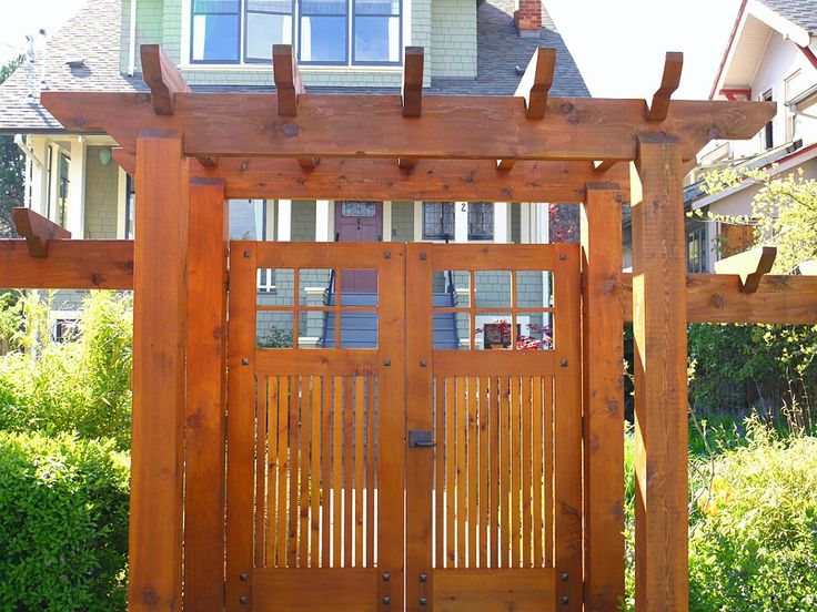 88 Best Craftsman Fence Images On Pinterest Wood Fences