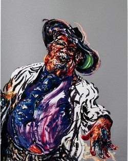 Maggi Hambling :George Melly