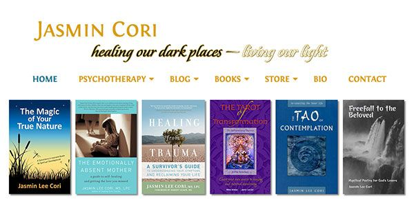 Site for author, Jasmin Cori. Providing spiritual counseling as well as psychological. Books and articles on both.