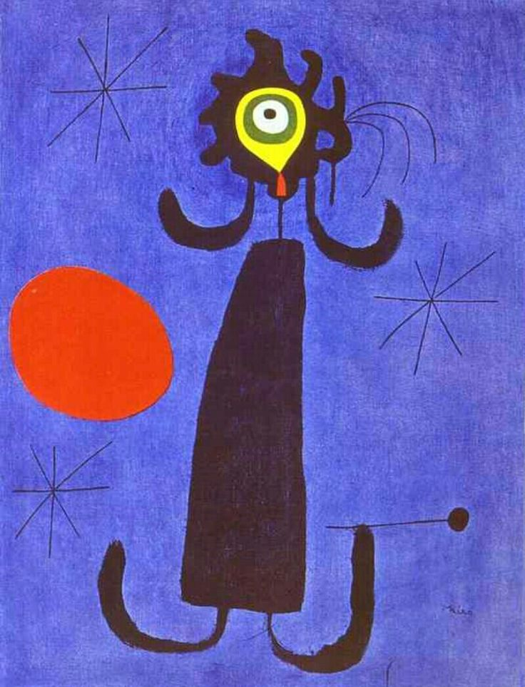 Woman in front of the Sun
