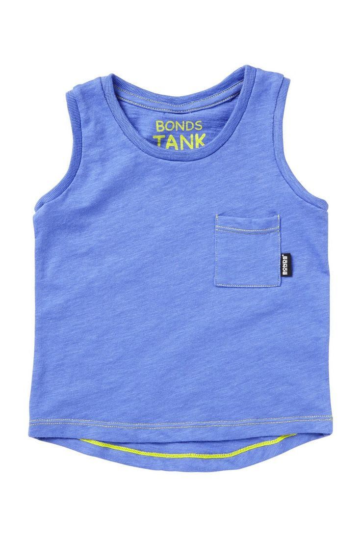 Bonds Baby Tank in scuba. A great basic for summer.