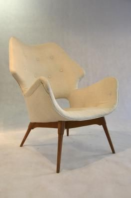 1950s Featherston Chair Danish Furniture Retro Art Deco Classic Chair