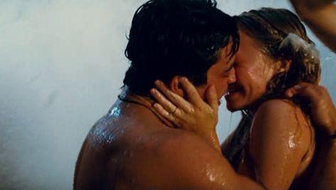 "Amanda Seyfried & Dominic Cooper from ""Mamma mia"""