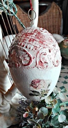 jajko z różyczką :)