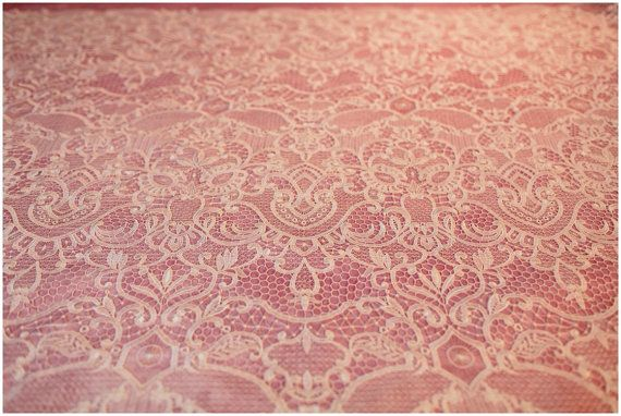 Guipure Lace fabric Bridal Dress Fabric Embroidery crochet