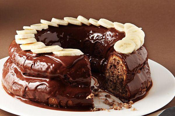 Σοκολατένιο μπανάνα κέικ | ΜΑΜΑ ΠΕΙΝΑΩ!