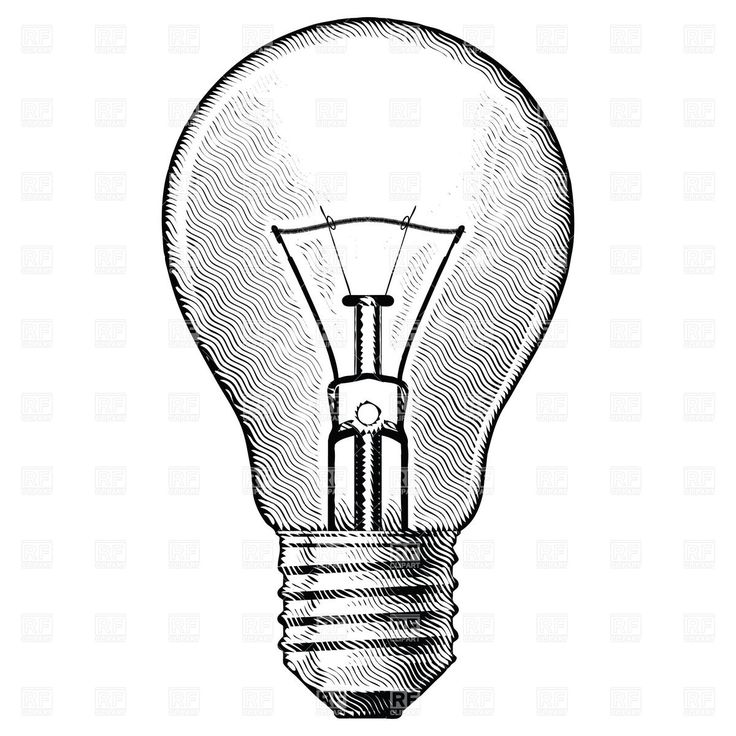 Line Drawing Light Bulb : Vintage light bulb drawing google search tattoos