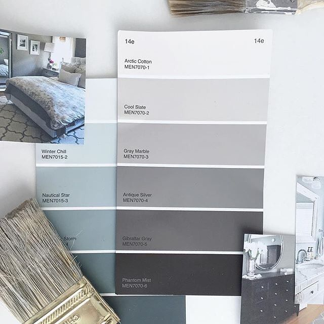146 Best Images About 50 Shades Of Grey Paint On Pinterest
