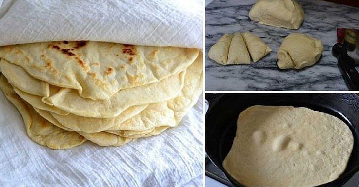 Recept na domácí tortilly
