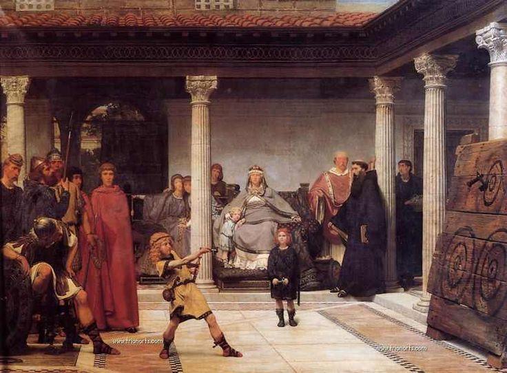 Sir Lawrence Alma-Tadema: El Neoclasicismo y la Antigüedad. (Trianarts)
