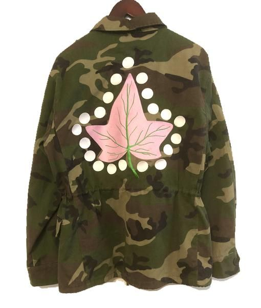 8f7f722fcfd0f IVY ARMY Embroidered Camo Jacket Aka Sorority, Alpha Kappa Alpha Sorority,  Sorority Life,