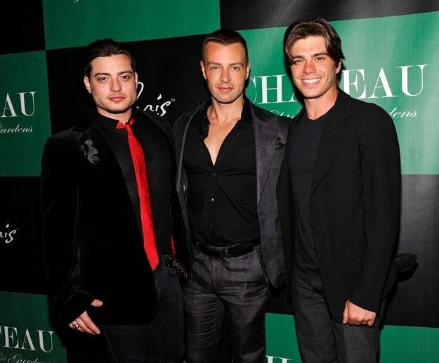 Joey, Matt, and Andrew Lawrence