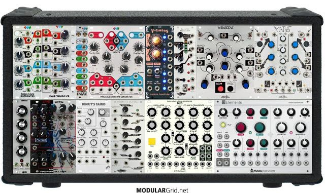 MATRIXSYNTH: Pablum Sargusso - Eurorack Modular Drum Track by Vedic Space Program