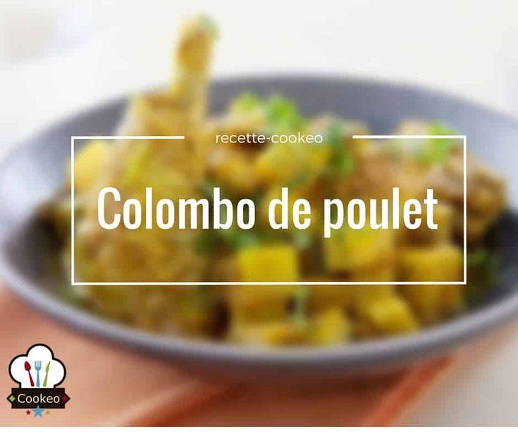 Colombo de poulet - Recette cookeo
