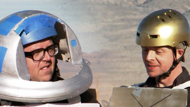 Simon Pegg and Nick Frost's Star Wars... brilliant on so many levels!
