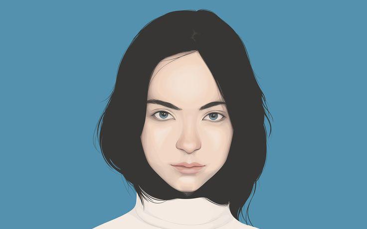Portraits 02 on Behance