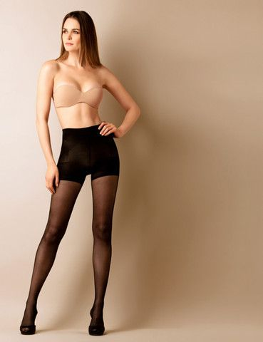 $29.95    Shaper Push Up Pantyhose.   Reduces one size. Made of seamless italian multi microfber.  40 den.