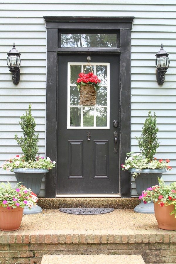 474 Best Front Door Charm Images On Pinterest Amor