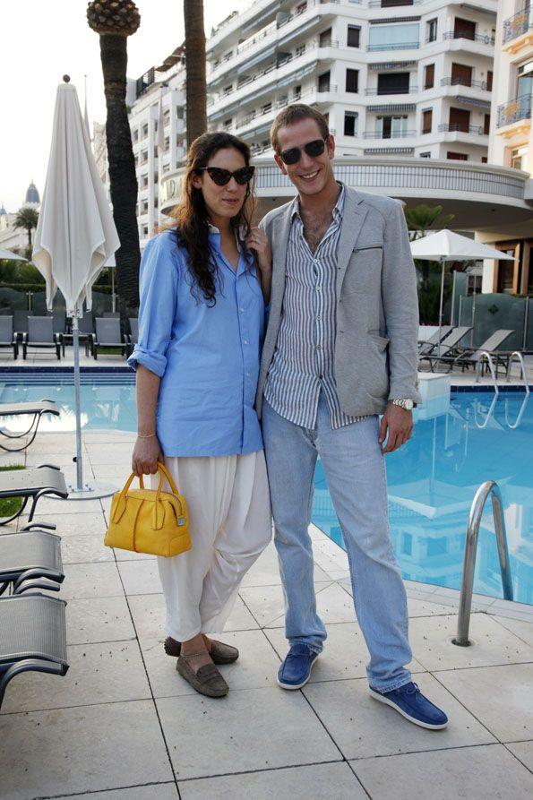 Andrea Casiraghi e Tatiana Santo Domingo vestono Tod's per l'estate 2012!