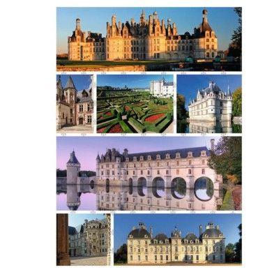 Puzzle Schlösser der Loire