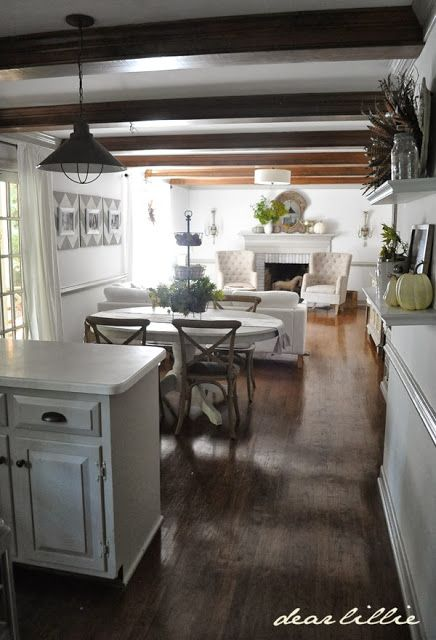 Decorating Open Plan Kitchen And Living Room: 371 Best Open Floor Plan Decorating Images On Pinterest