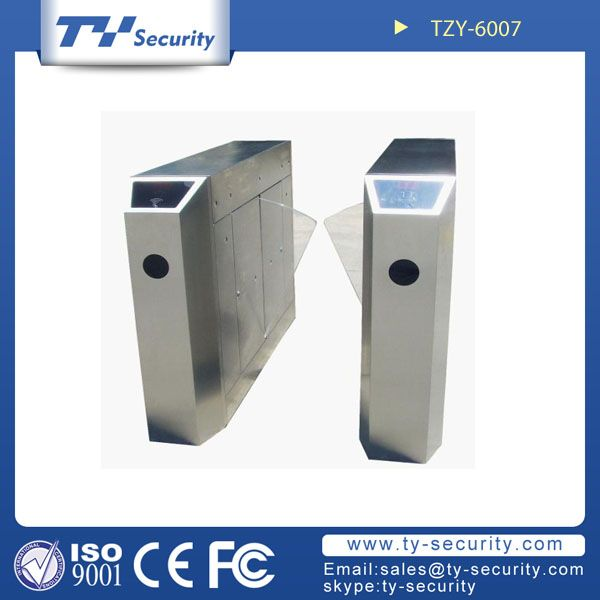 Fastlane Glasswing turnstiles TZY-6007