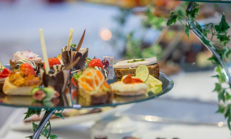 Some delicious canapes - a really nice treat for your guests on arrival with your drinks reception