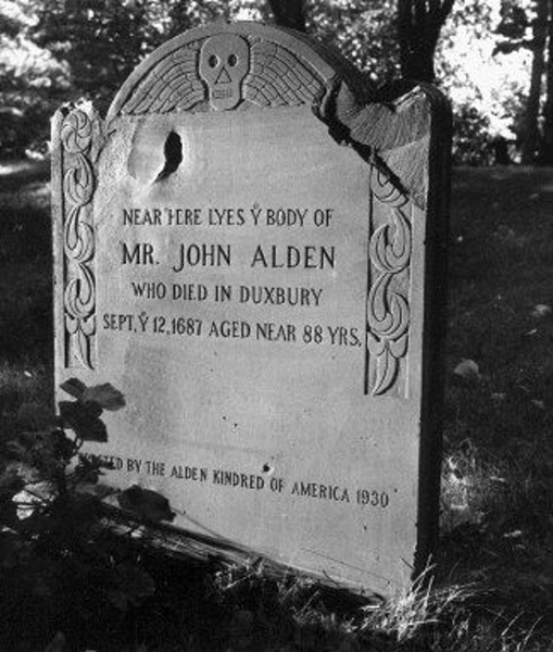 John Alden - Mayflower Passenger & my 10th Great Grandfather.
