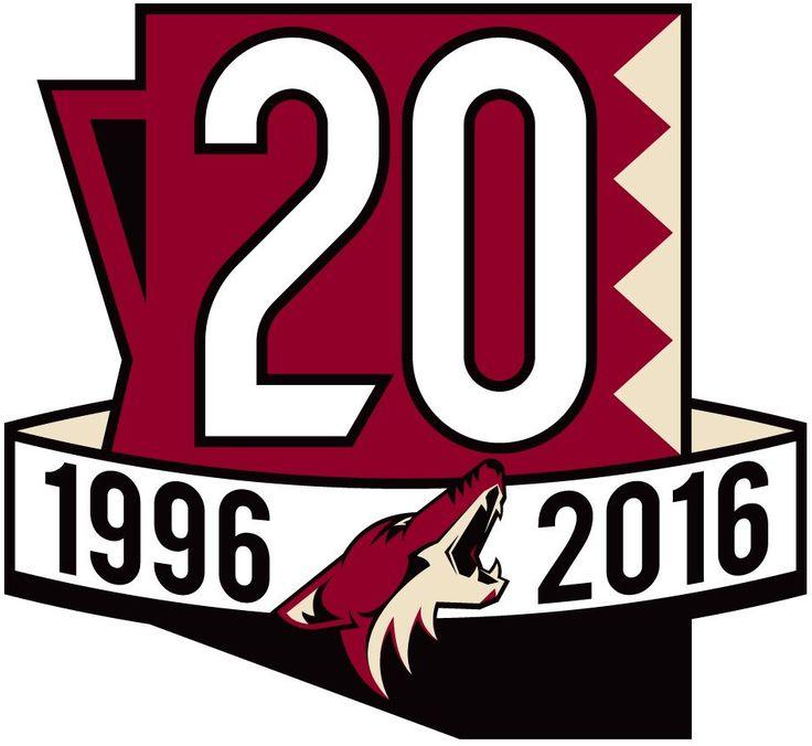 id:212306D70C00E06059321880F4BF5CC3A78AE700   Arizona Coyotes Anniversary Logo - National Hockey League (NHL ...