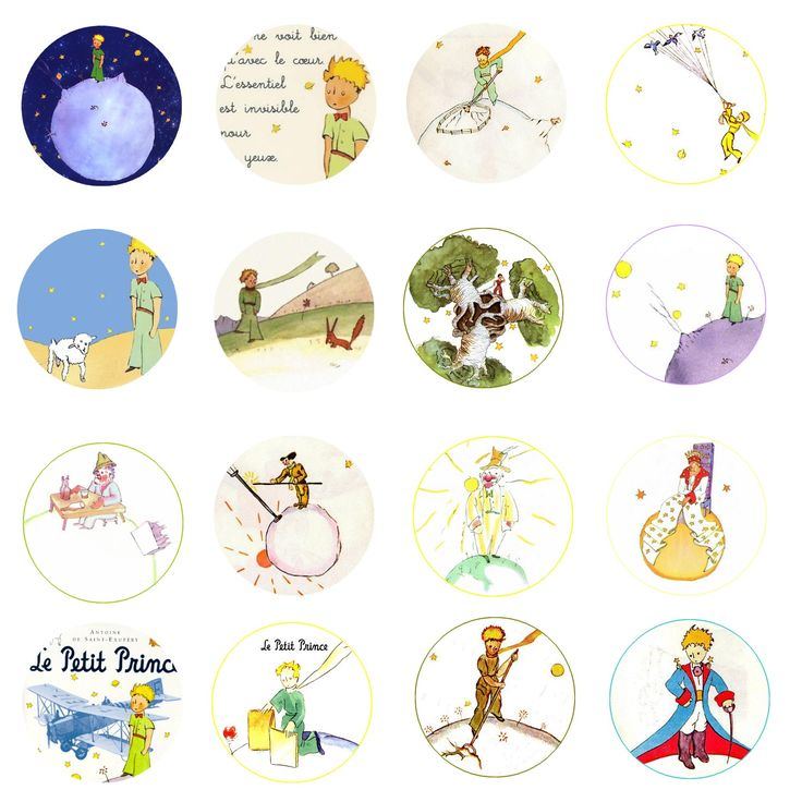 Just what I was looking for: little round images - perfect!