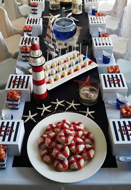 Nautical Sailor Party Table