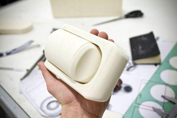 Braun Camera foam prototype.