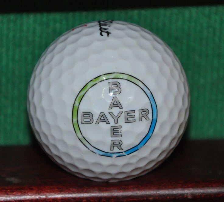 Bayer Corporation Logo Golf Ball. TItleist
