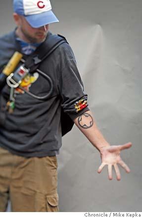 Bike Messenger - tattoo