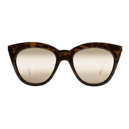Le Specs - Halfmoon Magic- Tortoiseshell Mirror