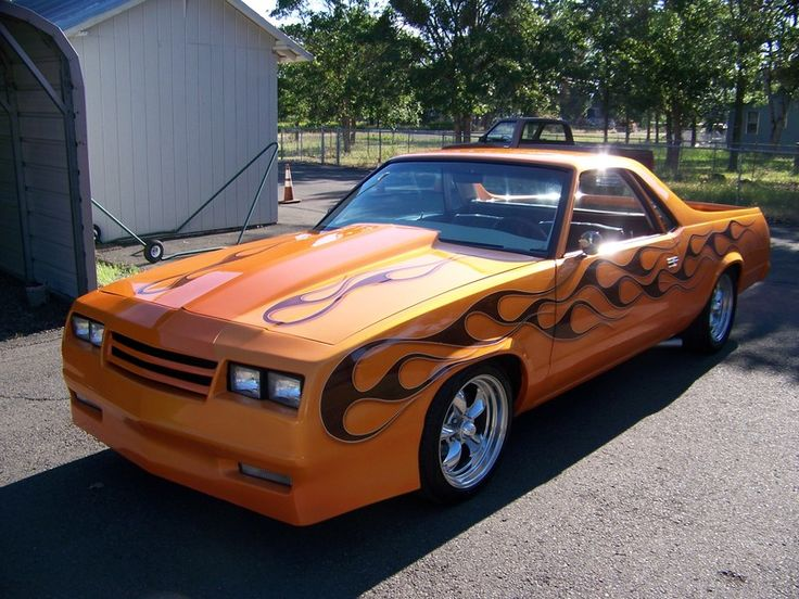 1986 Chevrolet EL CAMINO SPEED TV FREAKY TIKI for sale by Owner - Central point, OR | OldCarOnline.com Classifieds